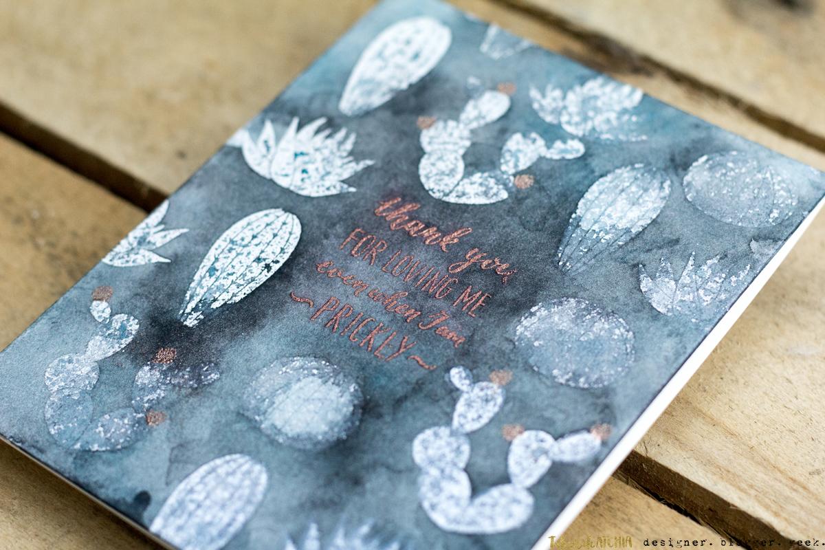 Cactus Love Card by Taheerah Atchia