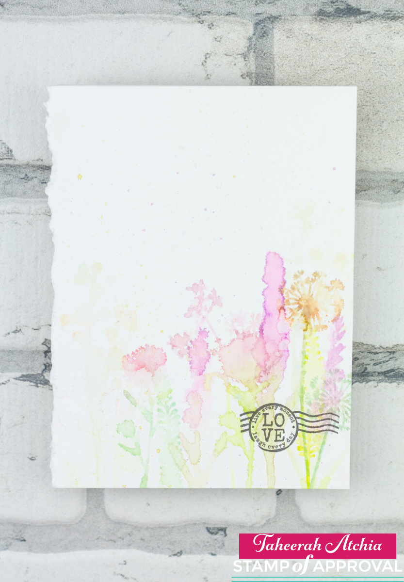 Love Wildflower Card by Taheerah Atchia