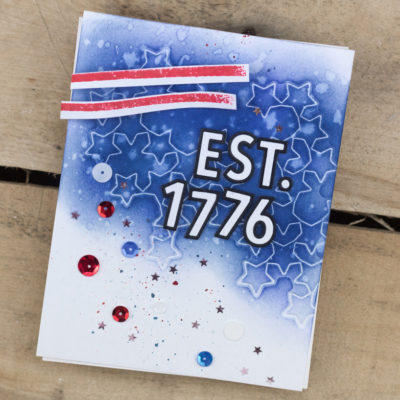 Est. 1776 Independence Day Card by Taheerah Atchia