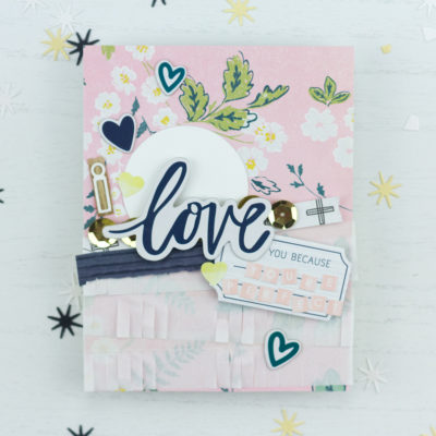I Love You Because You're Perfect Card by Taheerah Atchia