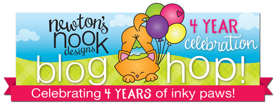 Newton's Nook 4th Anniversary Blog Hop Graphic
