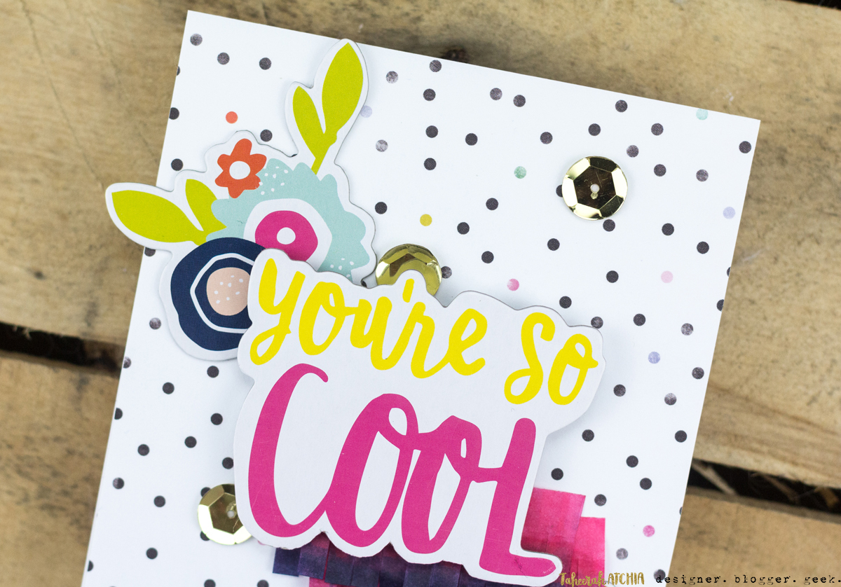 You're So Cool Card by Taheerah Atchia