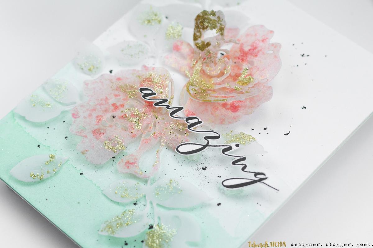 Amazing Floral Card by Taheerah Atchia