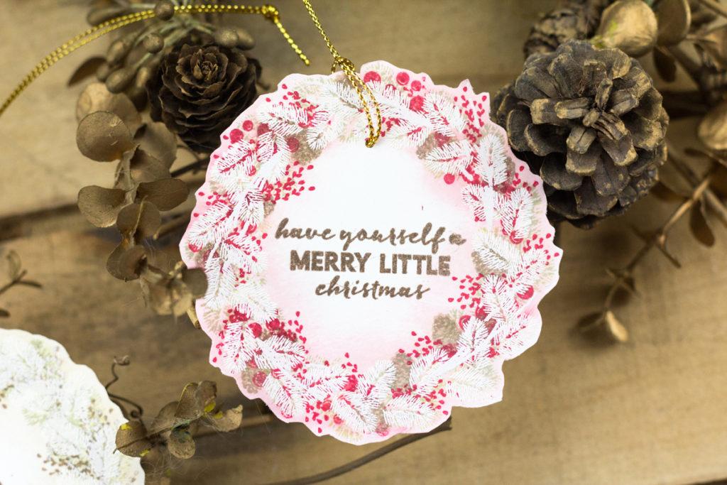 Christmas Wreath Gift Tags by Taheerah Atchia