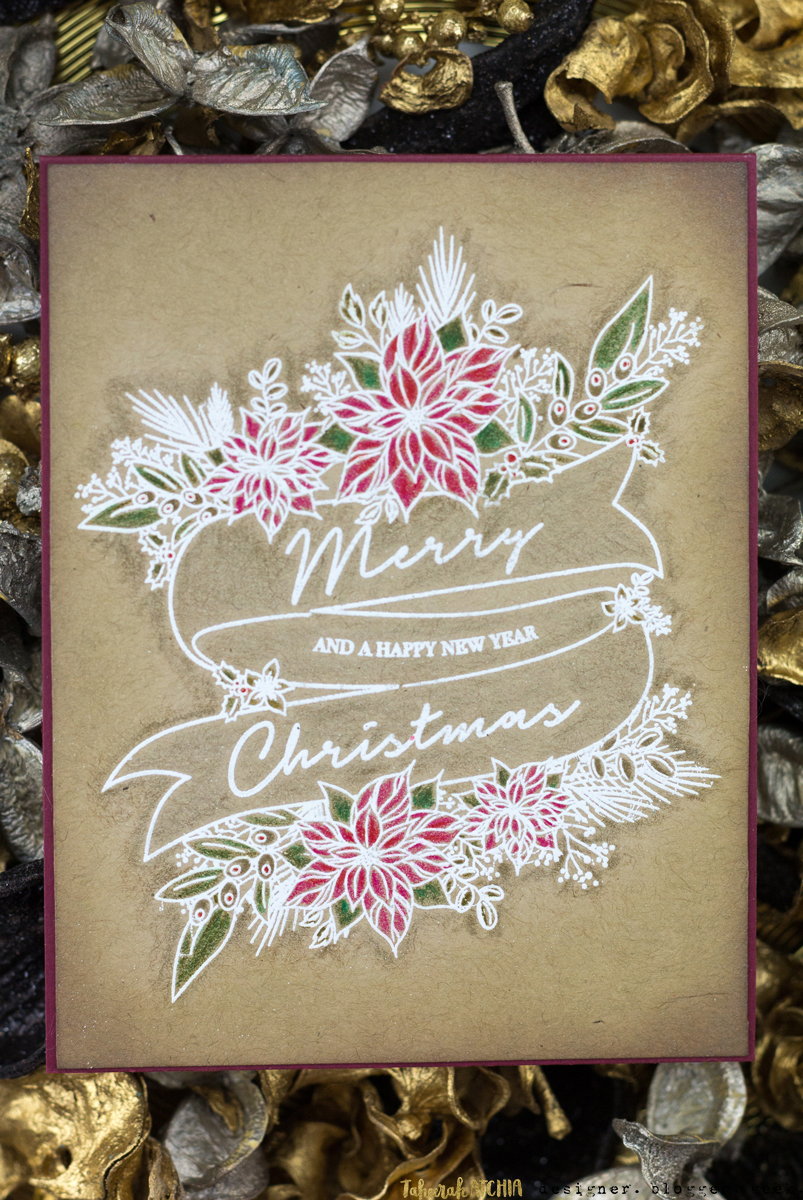 Merry Christmas Banner Card by Taheerah Atchia