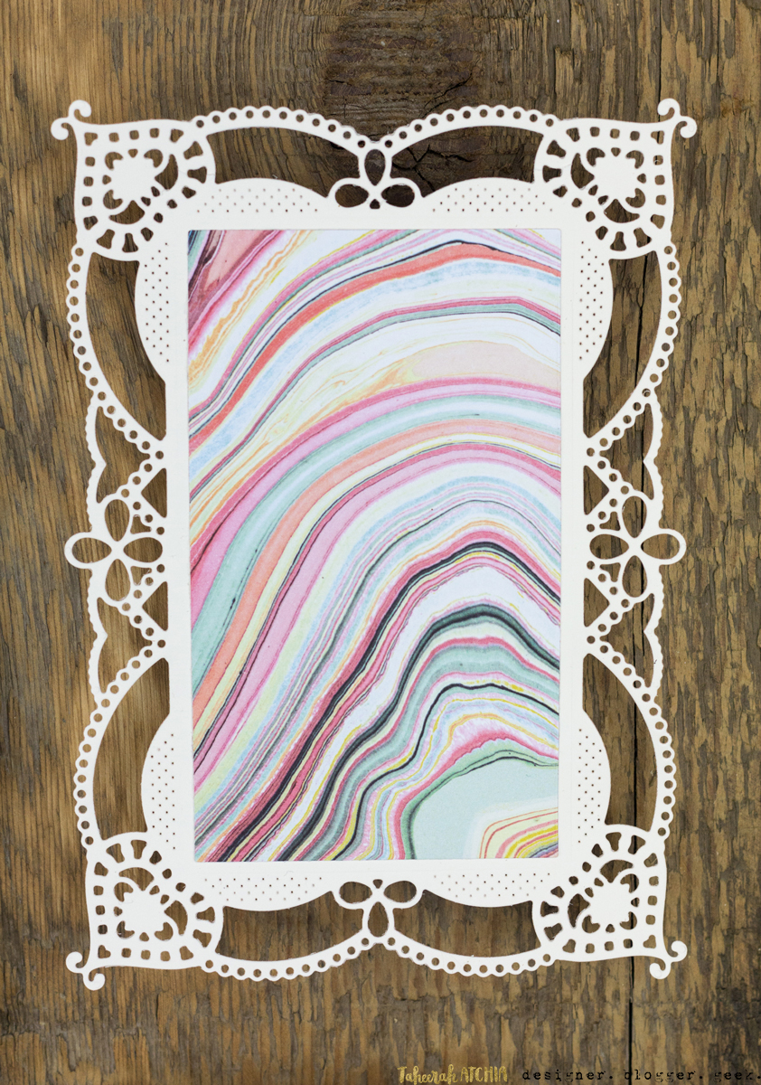 Marble Chantilly Lace Wedding Stationery Collection by Taheerah Atchia