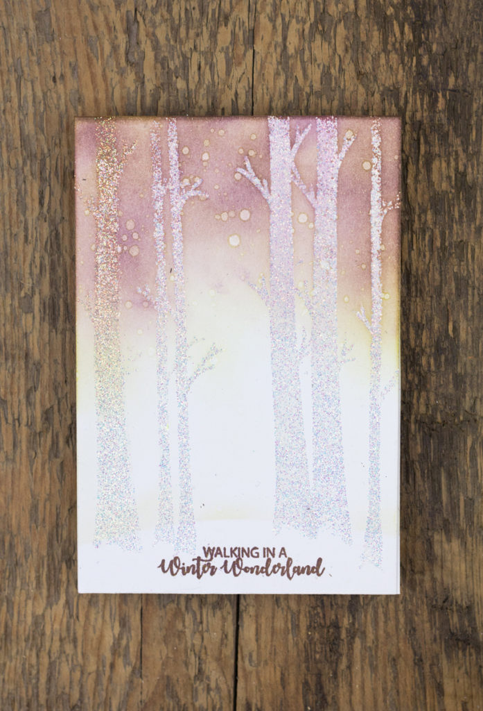Winter Wonderland Christmas Card by Taheerah Atchia