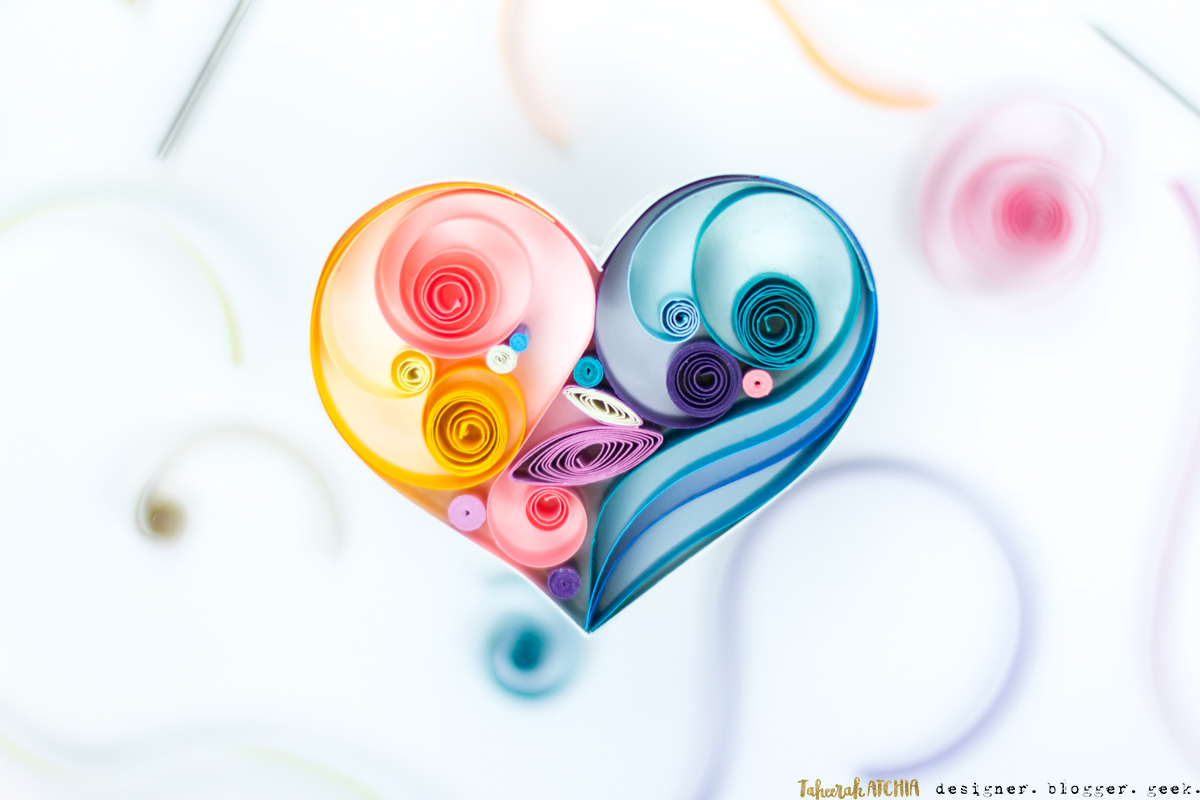 Quilled Heart by Taheerah Atchia