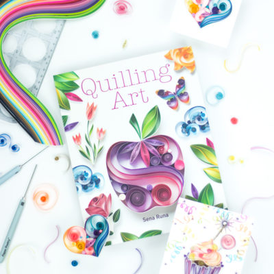 Quilling Art by Sena Runa. Shot by Taheerah Atchia