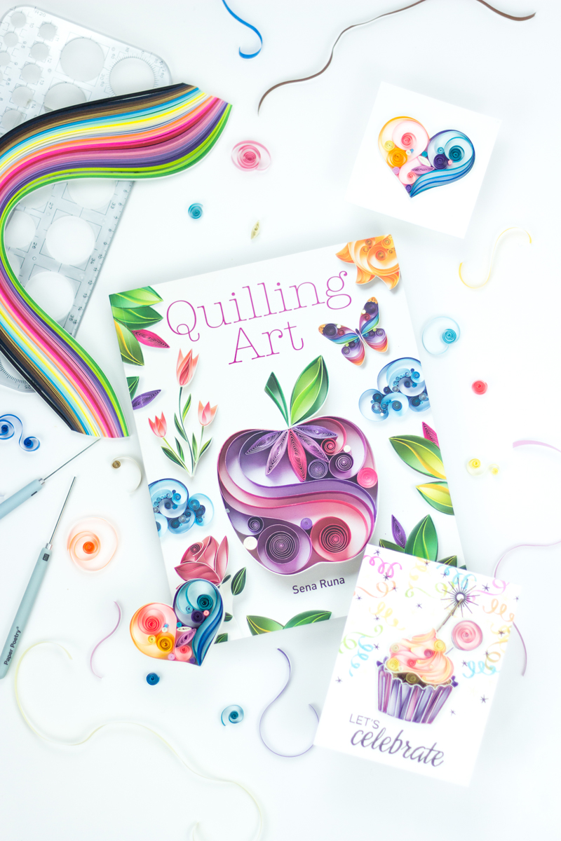 Review: Quilling Art by Sena Runa – And A Giveaway!