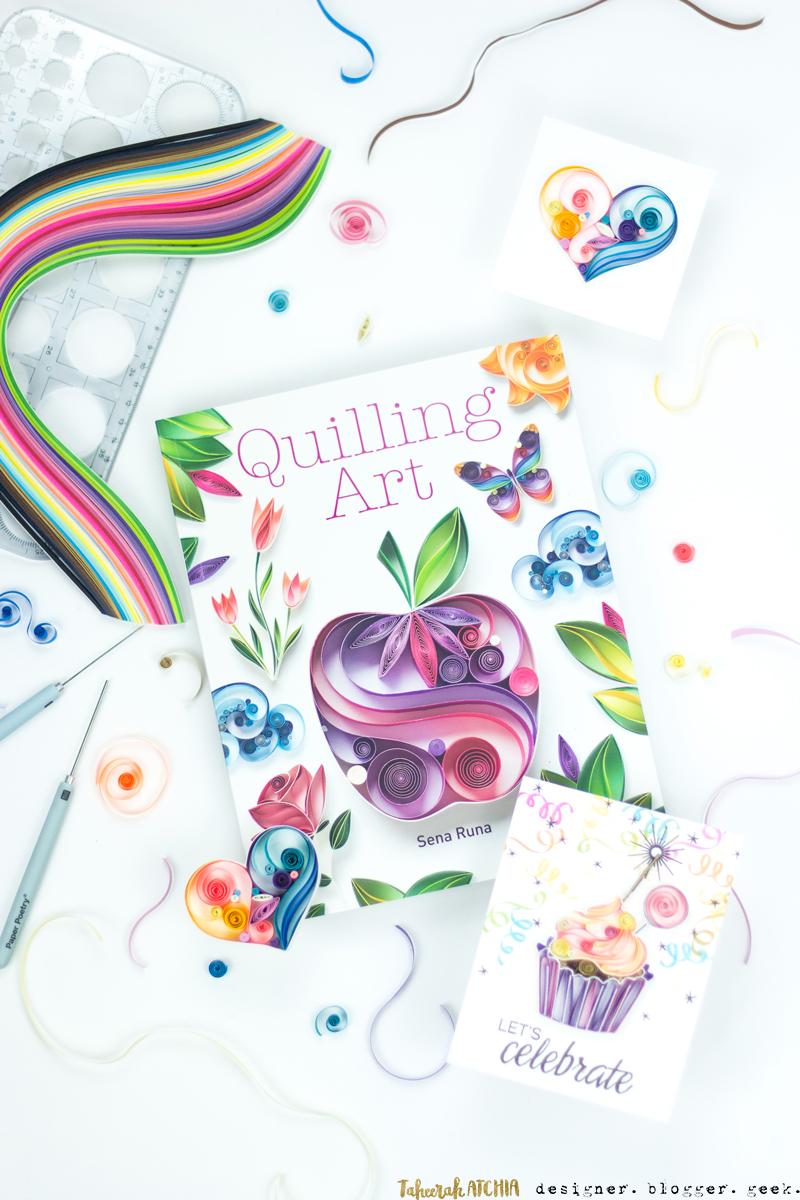 Quilling Art by Sena Runa. Shot by Taheerah Atchia
