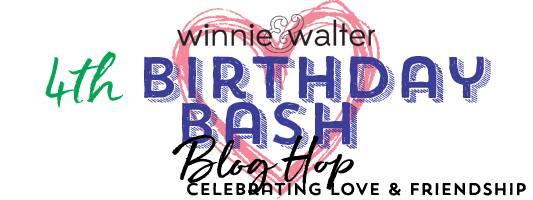 w&w 4th Birthday Bash Blog Hop Graphic