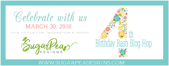 SugarPea Designs Birthday Bash Graphic 4 Years Banner