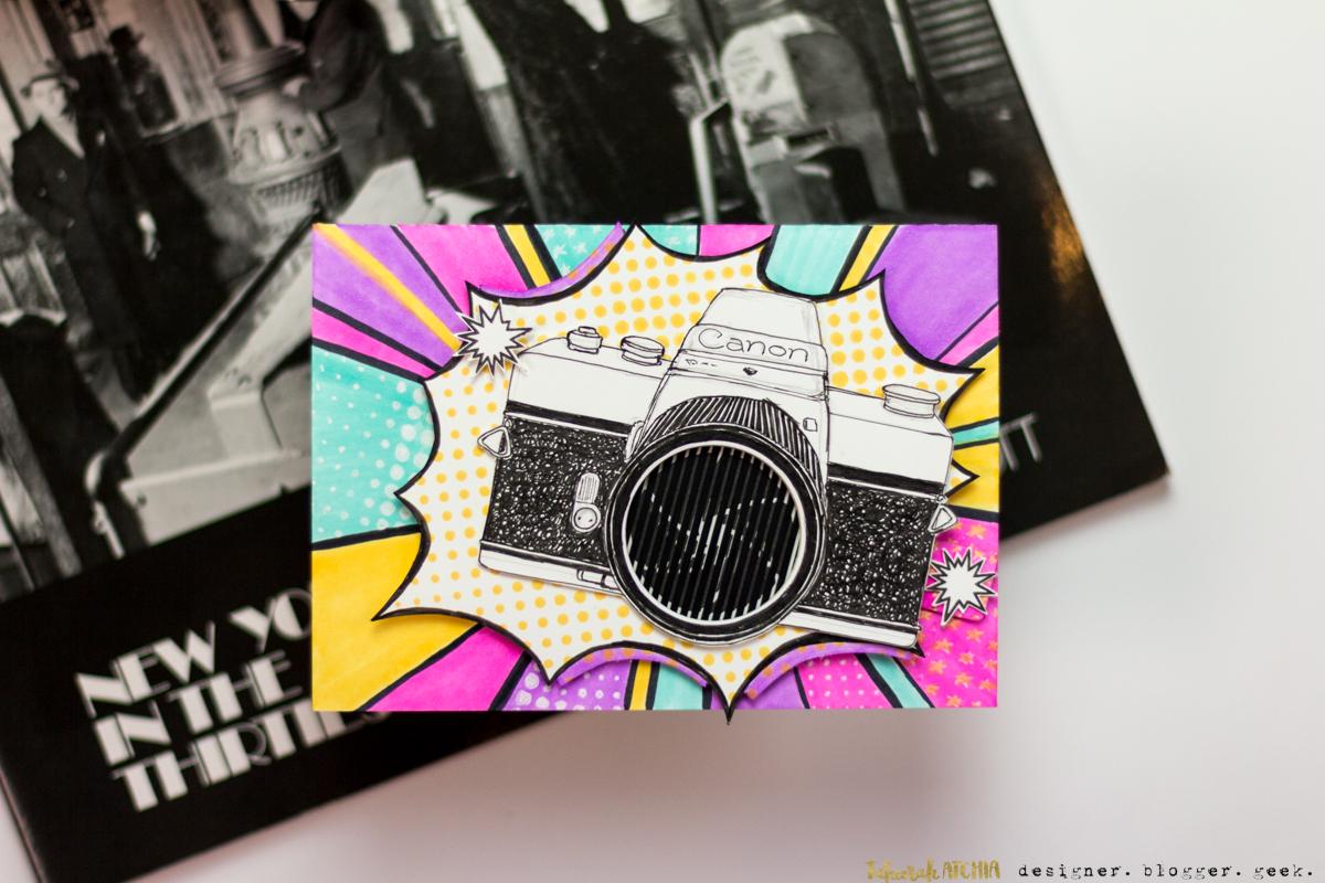 Moving Shutter Camera Card by Taheerah Atchia