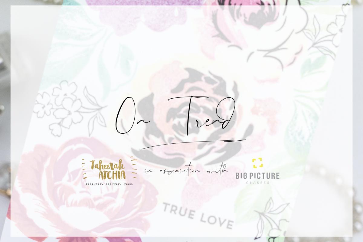 On Trend Class by Taheerah Atchia Promo