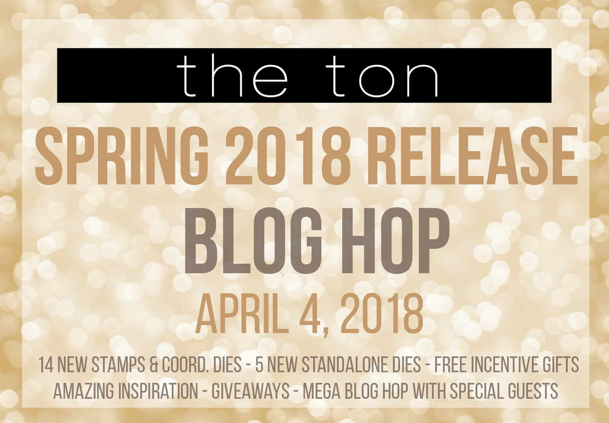 The Ton Spring 2018 Blog Hop Graphic
